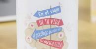 La Mente es Maravillosa - Taza frase y dibujo divertido (En el viaje de tu vida el psicólogo puede ser tu mejor guía) Regalo Psicólogo