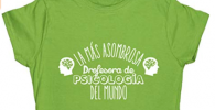 Camiseta para regalar a profesora de psicologia