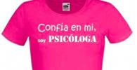 Camiseta para regalar a psicólogo