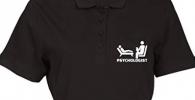 Polo para estudiante de psicología y psicólogo