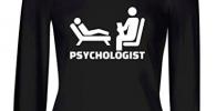 Camiseta para regalar a estudiante de psicología y psicólogo