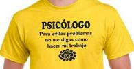 Camiseta para estudiante de psicologia o psicologa