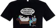 Camiseta estudiante de psicologia unicornio