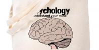 Bolsa para regalar a psicólogos con craneo cerebro
