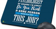Alfombrilla ratón para regalar a psicólogo