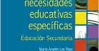 Atención a las necesidades educativas específicas: Educación Secundaria (Psicología)