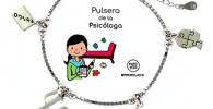 Pulsera de plata para psicóloga