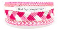 Pulsera hecha a mano para psicóloga