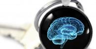 Huang Yiqi Neurology - Llavero de Cerebro de Ciencia, Colgante de Cristal de Cerebro Humano, joyería de psicología y anatomía