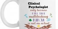 Not Applicable La Mejor Taza del psicólogo clínico Taza de café de 11 oz - Regalo del psicólogo clínico Regalos Personalizados para Hombres Camisetas de Mujer Tazas Tazas
