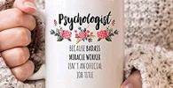 Psicólogo taza regalo psicólogo escuela psicólogo Ideas regalo psicología regalo