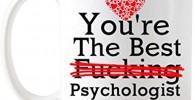 Regalos de psicólogo Eres el mejor psicólogo de la historia Taza de té Taza de cerámica de café con leche