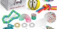 Anpro 24pcs Kit de Juguetes Antiestrés,Libera Estrés y Ansiedad para Niños y Adultos,Regalos para Niños en Navidad, Fiesta de Cumpleaños