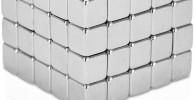 Magnéticos Antiestrés Premium con Extras Gratuitos, 100 Imanes Pequeños Extra Fuertes de 5mm